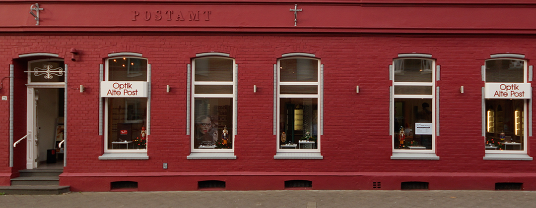 Fassade Optik Alte Post
